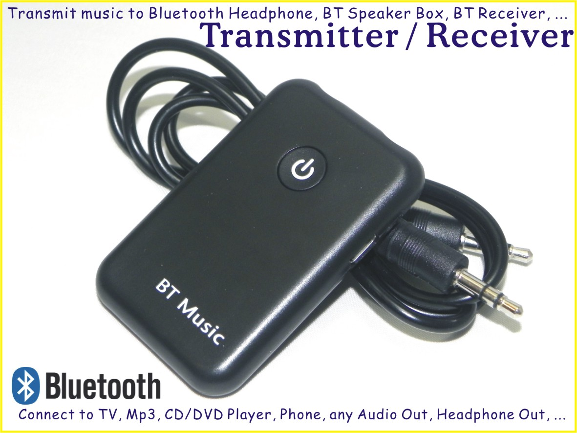 Bluetooth Transmitter, Bluetooth Handsfree, Music Streamer